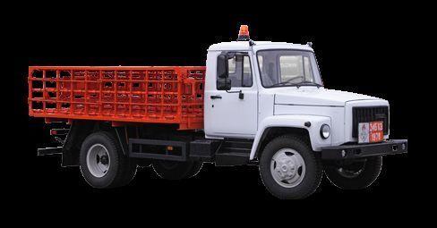 GAZ KT-602-01 camião de caixa aberta