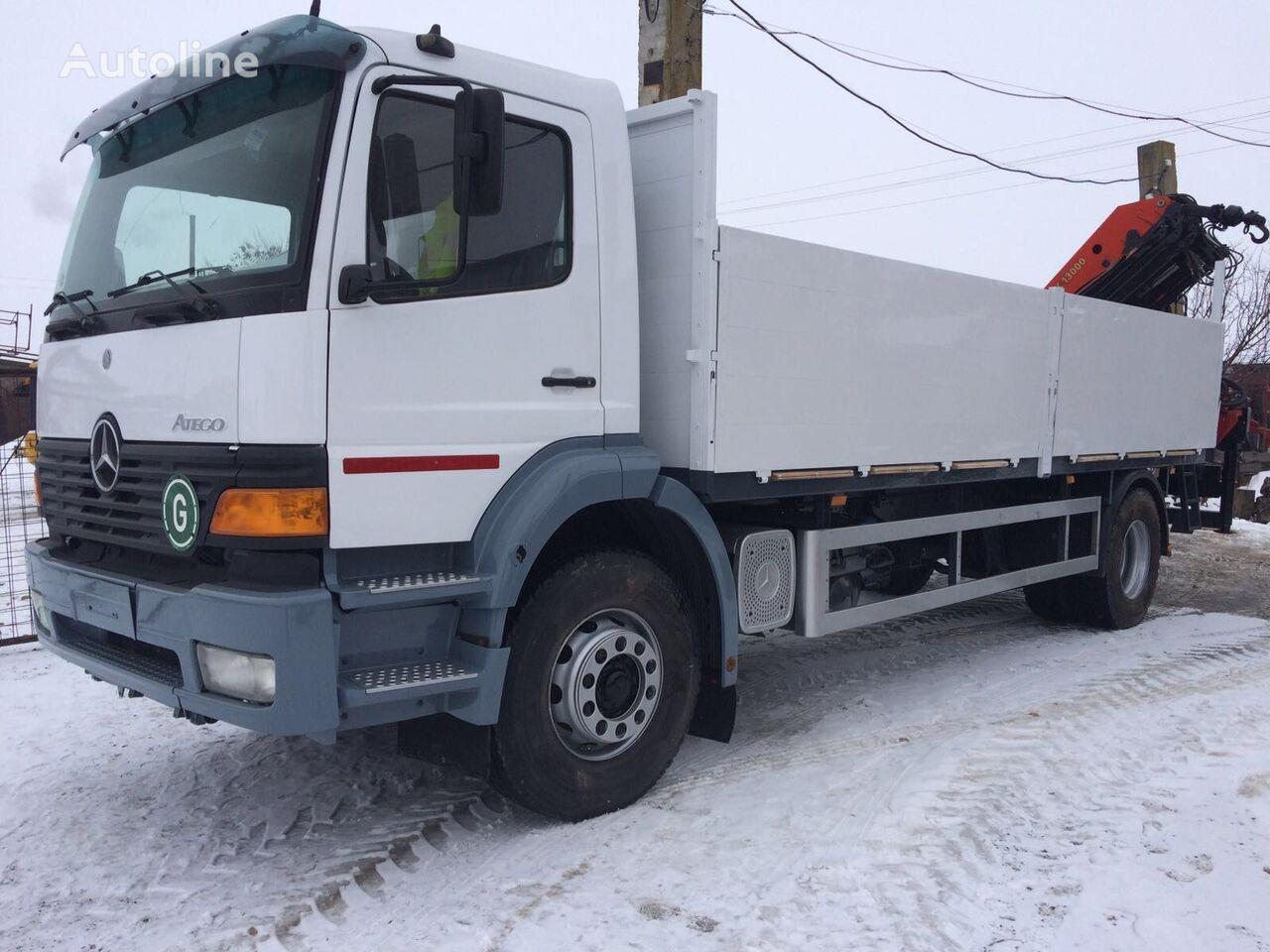 MERCEDES-BENZ ATEGO 1828 Palfinger PK 13000 camião de caixa aberta
