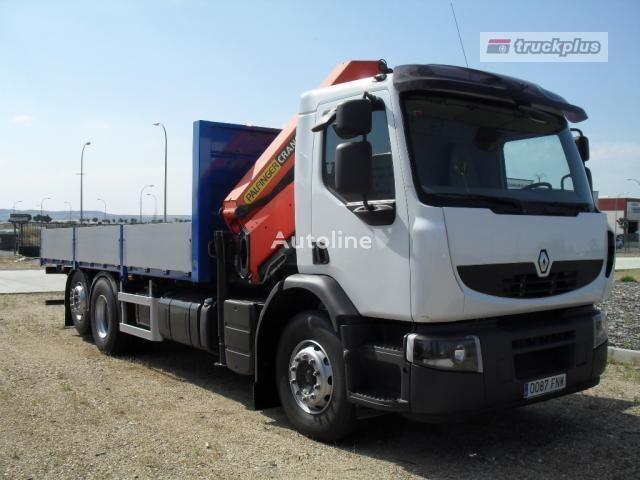 RENAULT PREMIUM 370 camião de caixa aberta