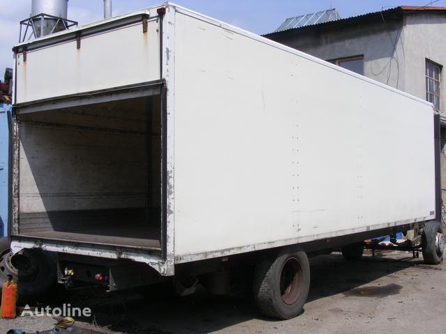 prachotěsná nástavba MONTEX camião de caixa aberta