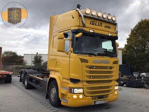 camião de contentores SCANIA R450