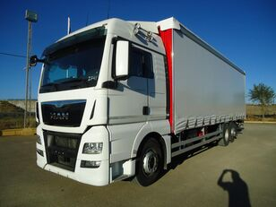 camião de toldo MAN  TGX 26 440