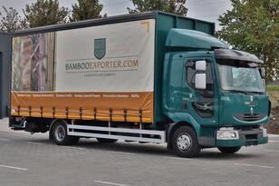 camião de toldo RENAULT Midlum 220dxi в Лизинг