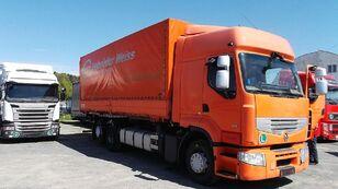 camião de toldo RENAULT PREMIUM 460