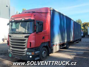camião de toldo SCANIA R400,Euro 5, Automat + reboque de toldo
