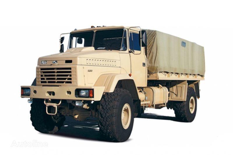 KRAZ 5233VE camião de toldo