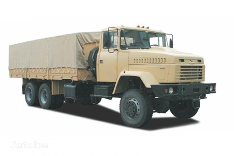 KRAZ 6135V6 camião de toldo