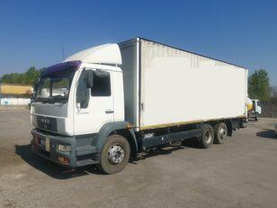 camião de toldo MAN LE20.280 CENTINATO IN ADR / PEDANA
