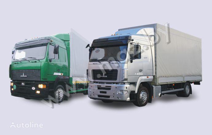 MAZ 5340 (19, E9) camião de toldo