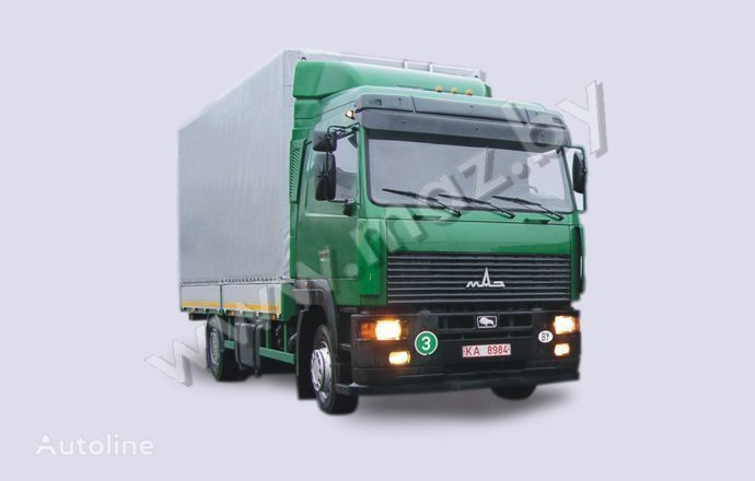 MAZ 5340A8 camião de toldo