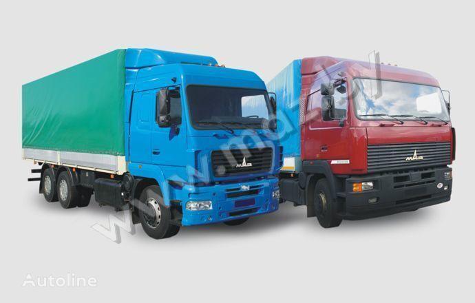 MAZ 6312 (A5, A8, A9) camião de toldo