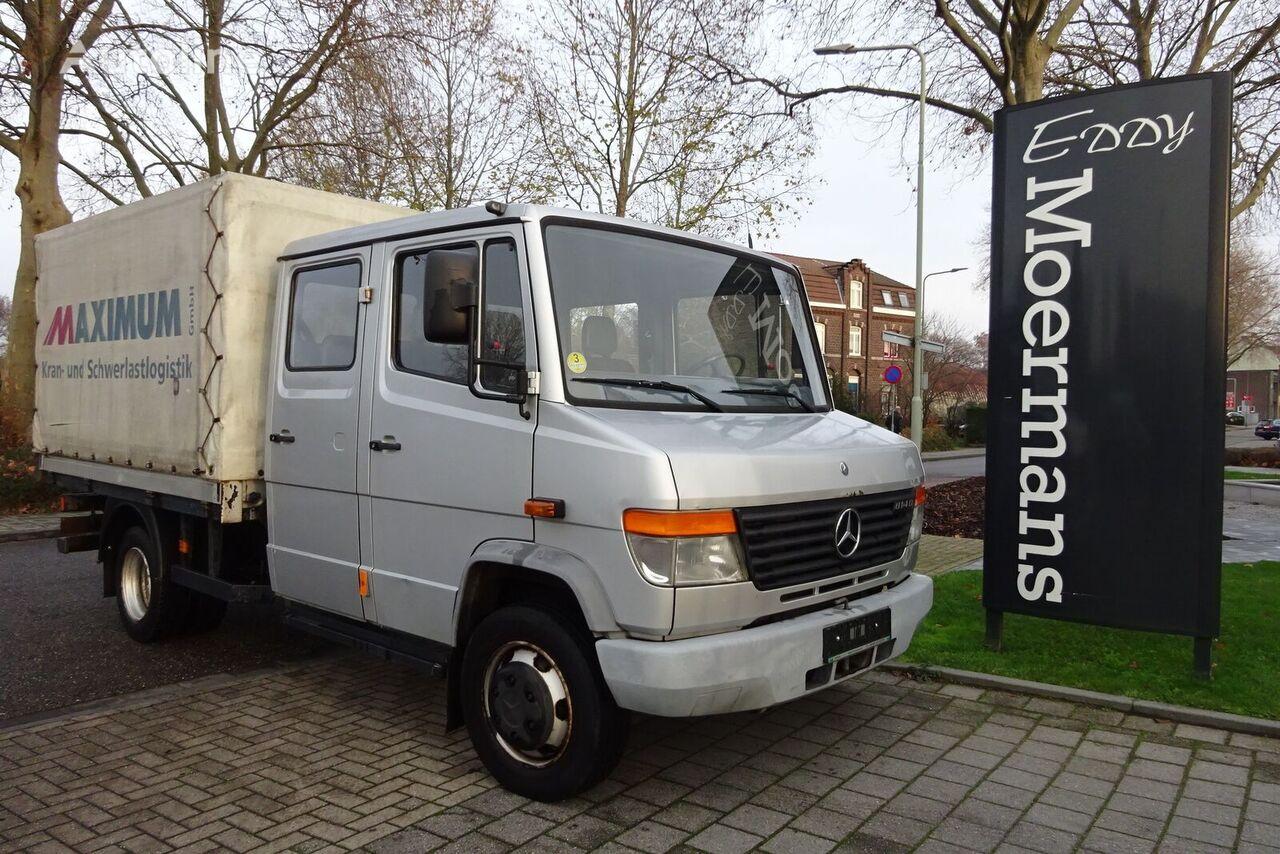 camião de toldo MERCEDES-BENZ 814D Double Cabin