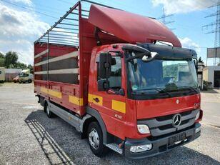 camião de toldo MERCEDES-BENZ Atego II 818L