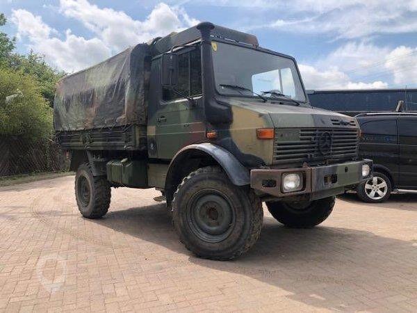 camião de toldo MERCEDES-BENZ UNIMOG U1300L (20 units)