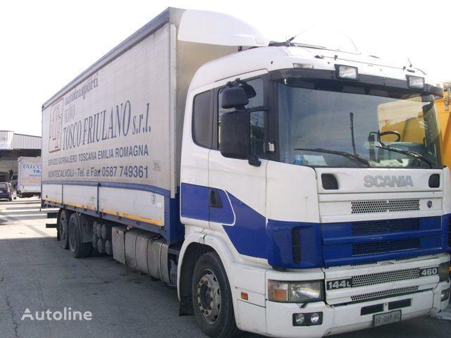 SCANIA 144L460 camião de toldo