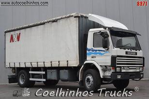 camião de toldo SCANIA 93M 230