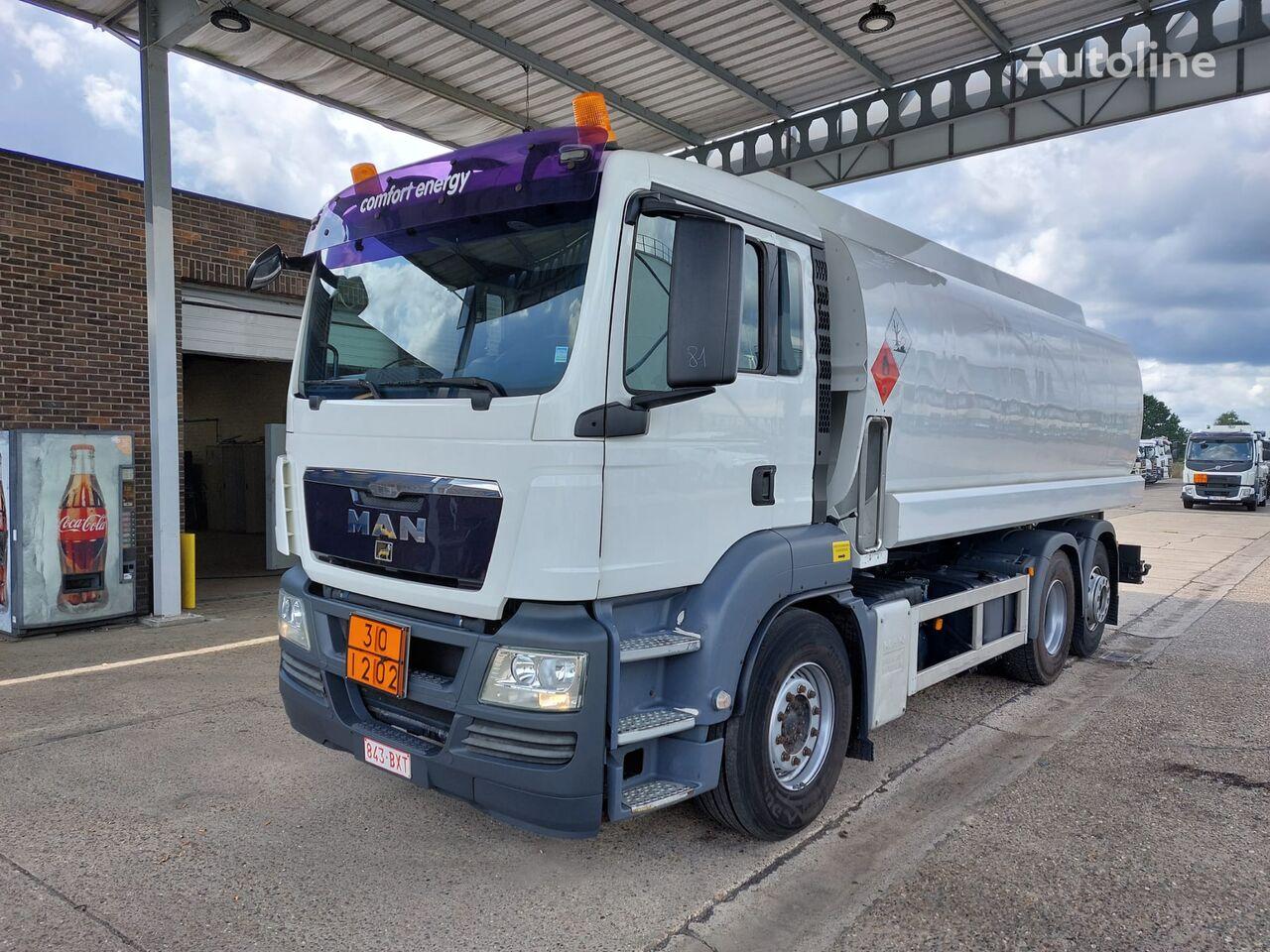 MAN camião de transporte de combustivel