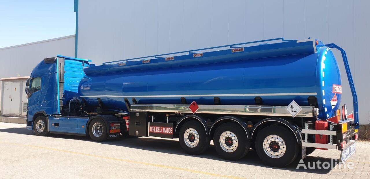 camião de transporte de combustivel SAHIN Benzovoz novo