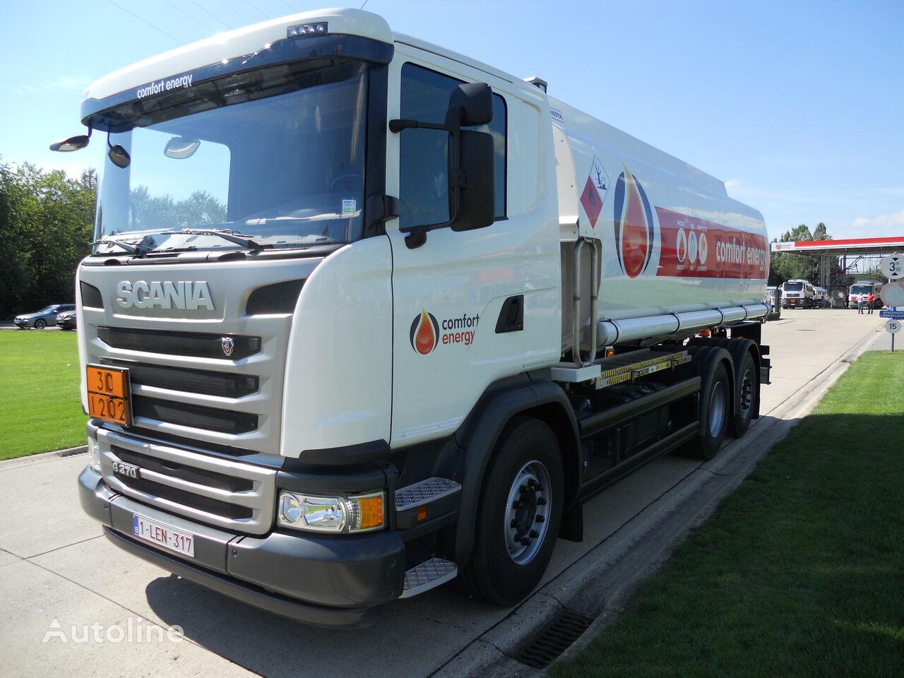 SCANIA camião de transporte de combustivel