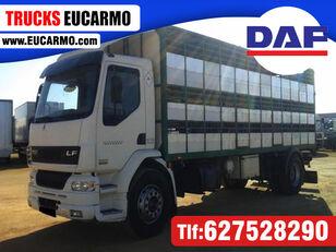 camião de transporte de gado DAF LF55 250
