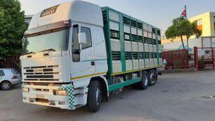 camião de transporte de gado IVECO Eurostar 240E42