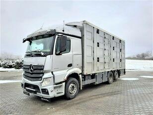 camião de transporte de gado MERCEDES-BENZ Actros 2543 6x2