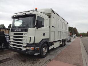 camião de transporte de gado SCANIA 164G 480