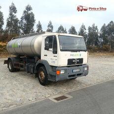 camião de transporte de leite MAN 18 284
