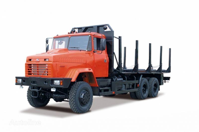 KRAZ 6233M6  camião de transporte de madeira