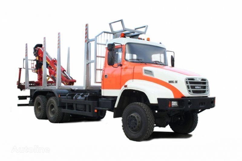 KRAZ M16.1H camião de transporte de madeira