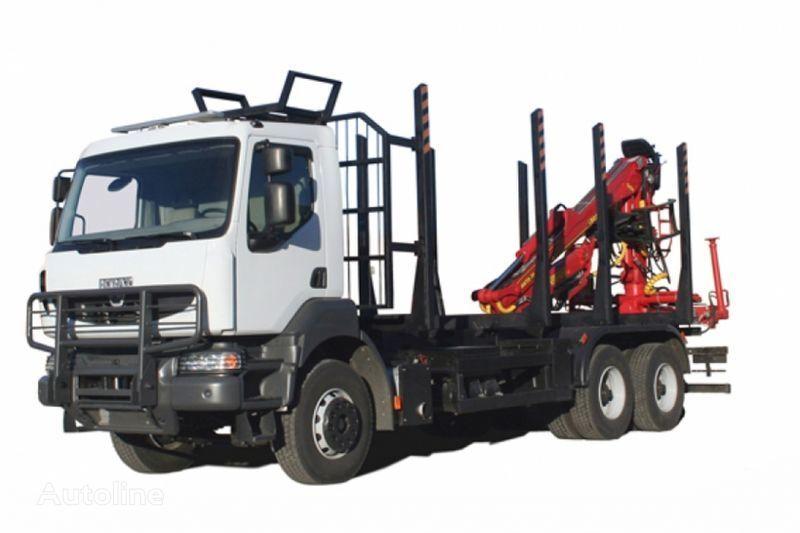 KRAZ M19.2R  camião de transporte de madeira
