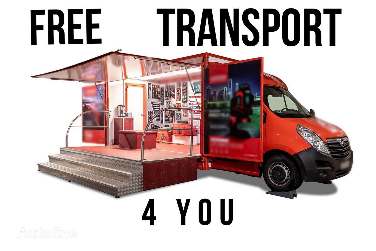 camião de venda BANNERT EVENT, SZKOLENIA TARGI !!!FREE TRANSPORT 4 YOU!!! novo
