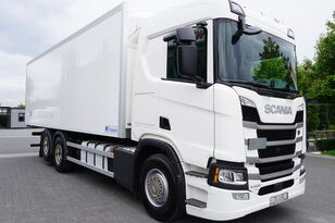 camião frigorífico SCANIA SCANIA R500, Euro 6, 6x2, 19 EPAL refrigerator , lifting axle, N