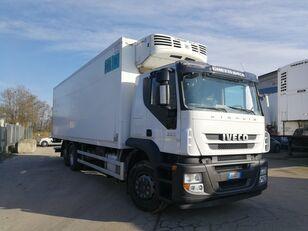 camião frigorífico IVECO STRALIS 260S36 6X2 CELLA FRIGO 9 METRI, THERMOKING, PEDANA 2 TON