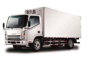 camião frigorífico JAC Изотермический фургон с ХОУ JAC N 80 novo