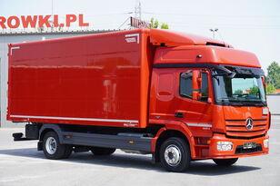 camião furgão MERCEDES-BENZ Atego 1224, E6, 4x2, 6.10m container, GLOB cabin, retarder