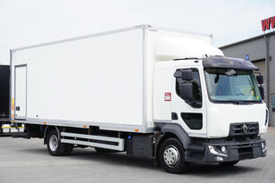 camião furgão RENAULT Midlum D12 , E6 , SLEEP CAB , 18 EPAL Box , Tail lift , side doo