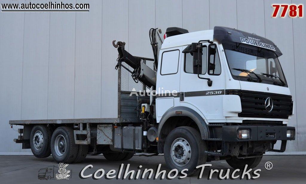 MERCEDES-BENZ 2538 SK camião plataforma