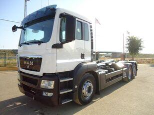 camião polibenne MAN TGA 26 440