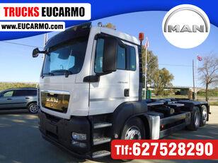 camião polibenne MAN TGA 26 460