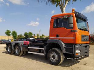 camião polibenne MAN TGA 33 430