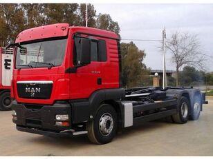 camião polibenne MAN TGS 26 440