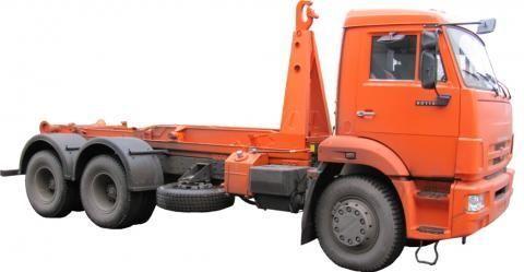 KAMAZ KO-452-13  camião polibenne