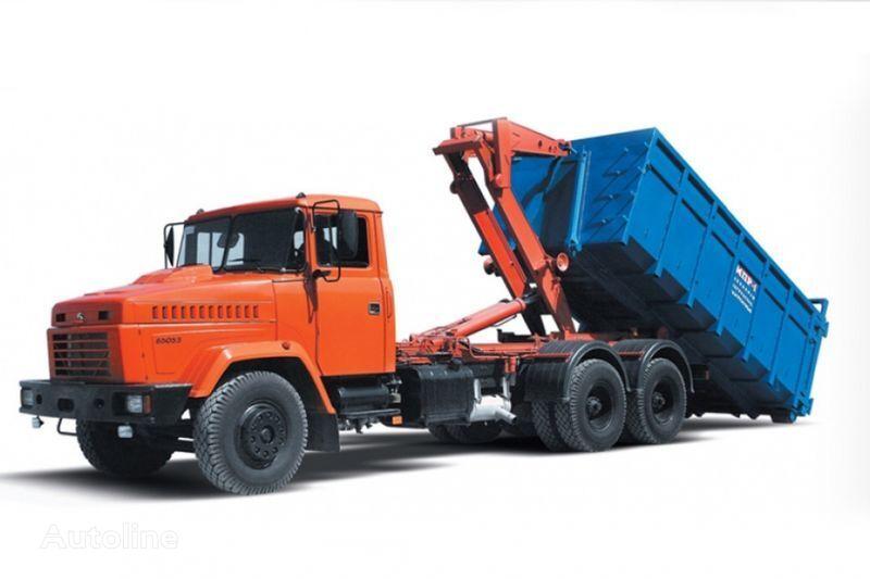 KRAZ 65053 MPR-1  camião polibenne