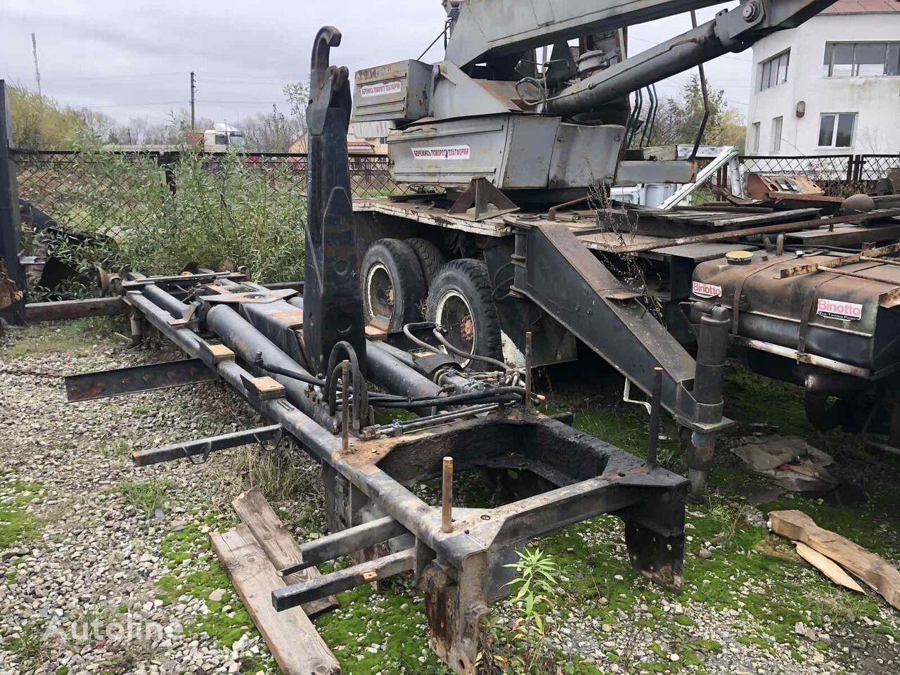 camião polibenne PALFINGER PLT 18 – 1998 i Marrel 3270 – 1989 rv (5,8m)
