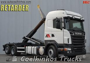camião polibenne SCANIA R 500