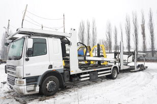 camião porta-automóveis DAF CF 75 360 , E5 , 4x2 ,MEGA , LOHR , retarder , sleep cab + reboque porta carros