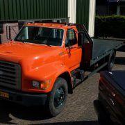 camião porta-automóveis FORD F800