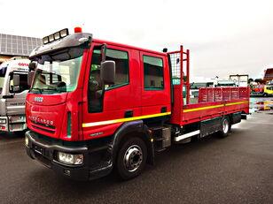camião porta-automóveis IVECO  120E240 MACHINEN TRANSPORT