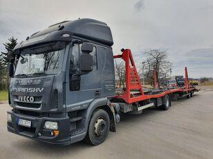 camião porta-automóveis IVECO Eurocargo 140E28 + reboque porta carros